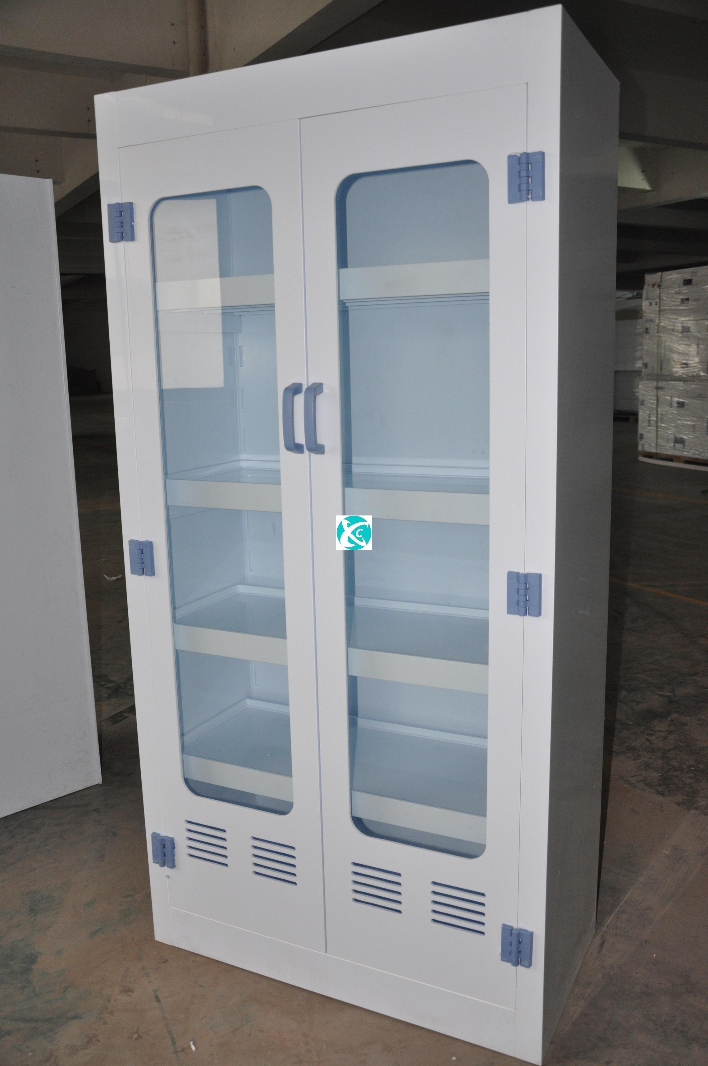 Chemical Lab Furniture PP Medicine Cabinet PP Chemical PP Reagent Cabinet